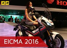 Honda X-ADV a EICMA 2016: video