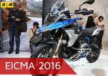 BMW R 1200GS 2017 ad EICMA 2016: il video