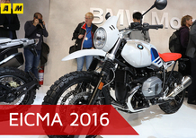 BMW R nineT Urban G/S a EICMA 2016: video