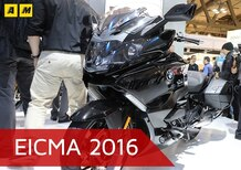 BMW K1600GTL 2017 ad EICMA 2016: il video