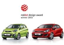 Kia Rio e Picanto premiate con i Red Dot Design Awards