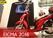 Honda SH 125i e SH 150i 2017 a EICMA 2016: video