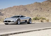 Jaguar C-X75: niente turbine per la versione stradale