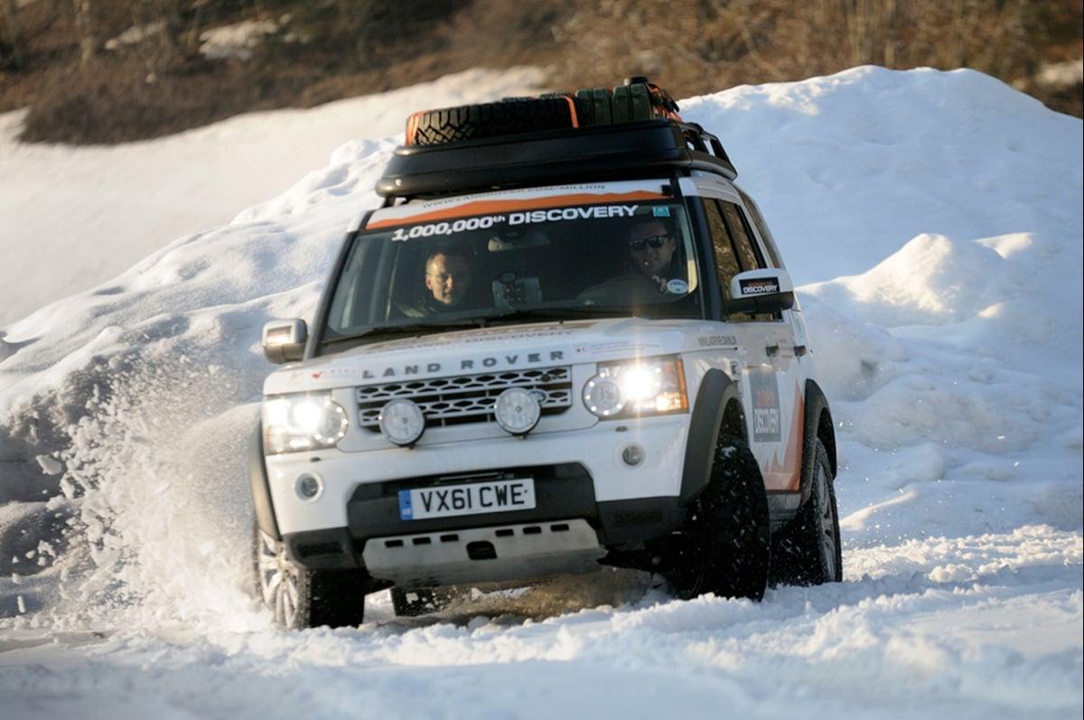 Land Rover  U201cjourney Of Discovery U201d - News