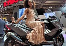 Novità Kymco 2017: AK 550, People S e Like con strumentazione Noodoe