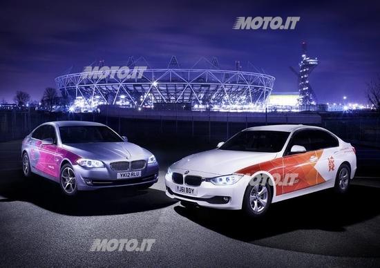 BMW: consegnate le prime vetture per i Giochi Olimpici 2012