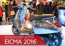 Vespa Elettrica a Eicma 2016: video