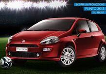 Fiat: gli Europei 2012 in palio con la Punto