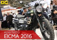 Triumph Street Scrambler a EICMA 2016: video