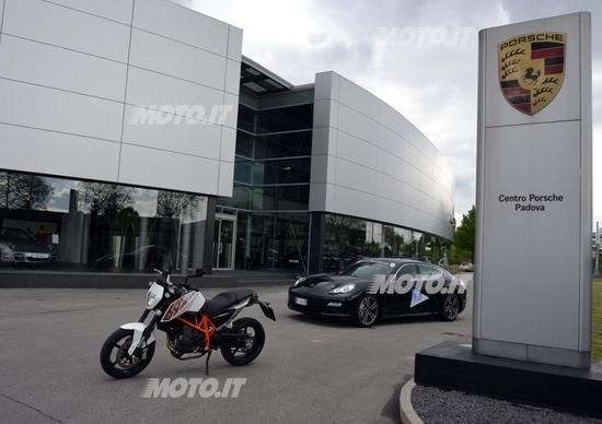 Un giro per la vita 2012 e Porsche Italia: punti di vista