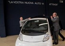 Peugeot iOn consegnata al Presidente dell'Automobile Club di Milano