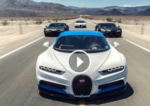Bugatti Chiron: ecco i test estremi che ha superato [Video]