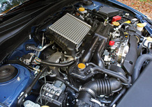 Subaru: un turbo ad azionamento elettrico per la futura WRX STi