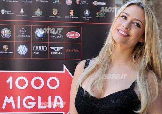 Martina Stella: sarà la madrina della Mille Miglia 2012