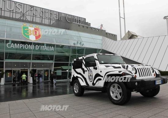 Jeep Wrangler: un esemplare dedicato allo scudetto della Juventus