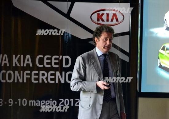 Giuseppe Bitti: «Kia è cresciuta del 31% nel 2011»