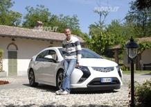 Opel: il campione di rally Piero Longhi è il primo italiano ad acquistare una Ampera