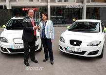 Seat: consegnate al Comune di Barcellona le prime 3 vetture elettriche