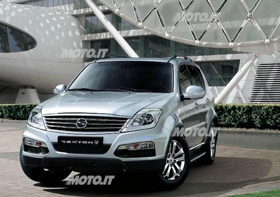 Ssangyong Rexton W: il restyling