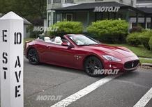 Maserati: la GranCabrio Sport sulle orme di Springsteen