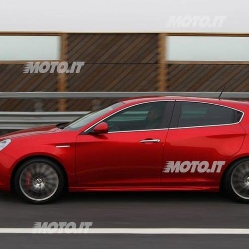 Alfa Romeo Giulietta Sponsor Di Ironman 2012