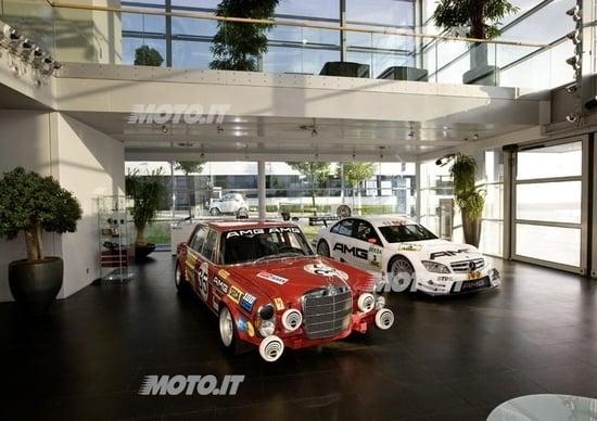 Mercedes-AMG compie 45 anni