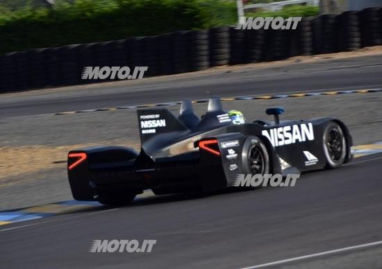 Nissan Deltawing: una sfida anche per Michelin