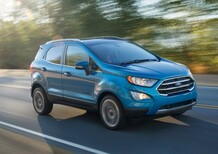 Ford EcoSport: la versione per gli USA anticipa il restyling 2017