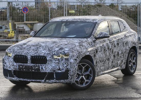 BMW X2: nuove foto spia!