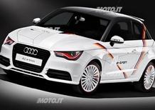 Audi A1 e-tron: un esemplare dedicato agli atleti tedeschi