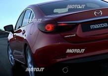Nuova Mazda6: prime immagini e informazioni ufficiali