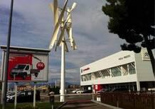 Citroen: inaugurato punto di ricarica eolico per vetture elettriche