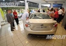 Subaru BRZ Tour: buona affluenza di pubblico