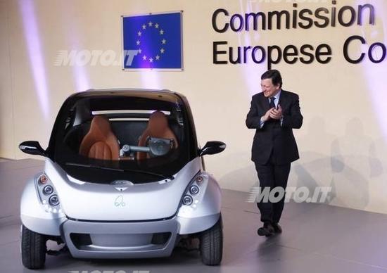 Hiriko: arriverà nel 2013 la city car elettrica ripiegabile