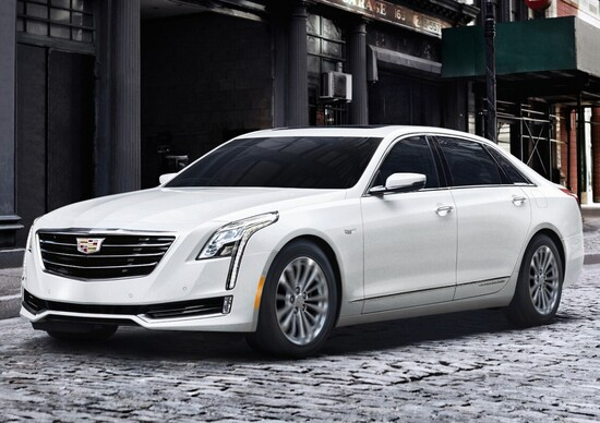 Cadillac CT6 Plug-in Hybrid: esordio USA a Los Angeles