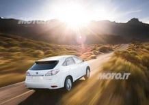 Lexus RX 450h: scelta da Google per i test a guida autonoma
