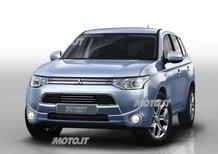 Mitsubishi Outlander PHEV: il SUV ibrido plug-in da 1,9 l/100 km