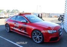 Audi RS5: la Safety car della 24 Heurs Moto a Le Mans