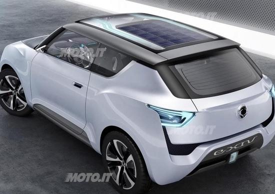 Ssangyong e-XIV Concept: il debutto a Parigi