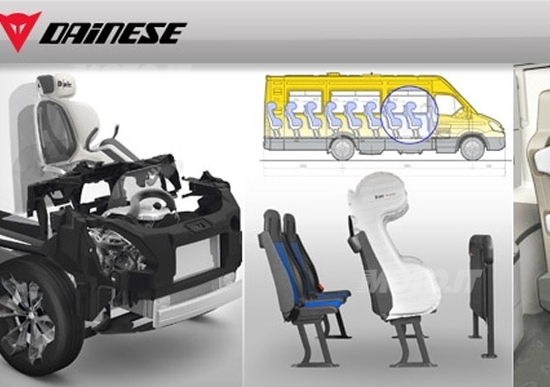 Airbag Dainese per i commerciali Iveco