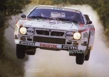 Lancia Rally 037 4WD Hybrid al Rally Legend 2012