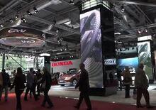 Salone di Parigi 2012: lo stand Honda dal vivo - Video