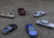 Maserati 3500 GT Convertibile Vignale, Ghibli 4700, Mistral 4000 e Quattroporte