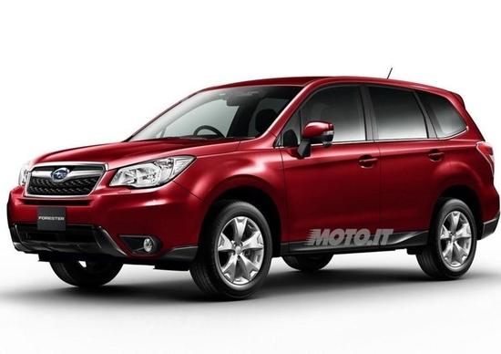 Nuova Subaru Forester: le prime immagini ufficiali