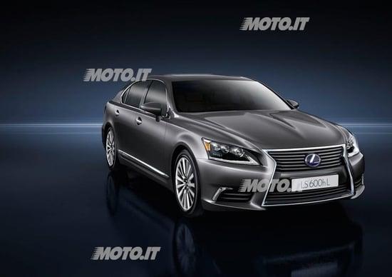 Lexus LS 600h restyling: listino prezzi