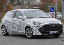 Inside spy shots: the new Opel Corsa