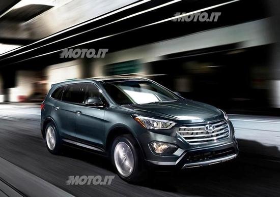 Hyundai Santa Fe a 7 posti