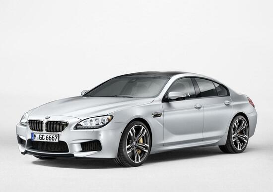 BMW M6 Gran Coupé: informazioni e immagini ufficiali