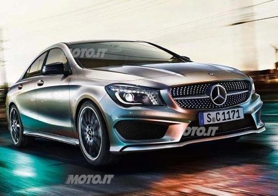 Mercedes-Benz CLA: prime immagini