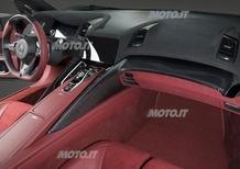Acura NSX Concept: ecco gli interni